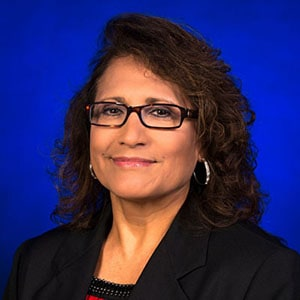 Belinda Dovalina, professor teaching Business and Financial Aspects of Facilities Management courses at UTSA Online