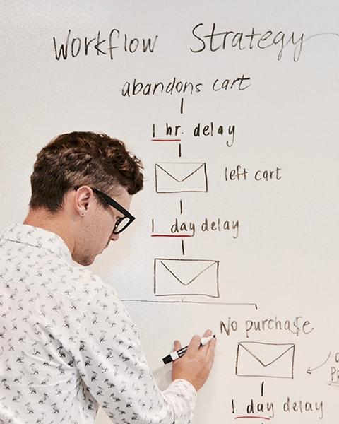 UTSA-Online-Student Mocking up a workflow strategy